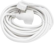 10M Valkoinen Maadoitettu Jatkojohto 3G1.5