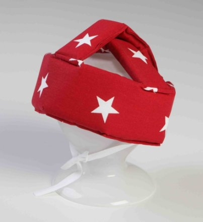 NG-Baby Pannband star röd