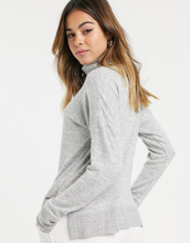 Abercrombie & Fitch cozy turtle jumper-Grey