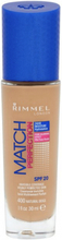 Rimmel Match Perfection Foundation 400 Natural Beige 30 ml