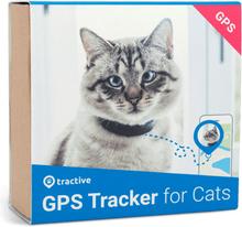 Tractive GPS kattehalsbånd. GPS tracker til katte med sikkerhedsmekanisme.