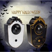 1 PC Halloween Türklingel Horror animierte sprechende Türklingel für Haunted House Holiday Party mit gruseligen Geräusch