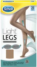 Scholl Light Legs Compression Tights Light Tan