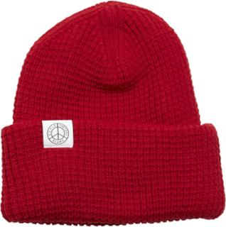 Tretorn X Makia Beanie Accessories Headwear Beanies Rød Tretorn
