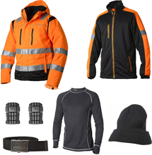Vidar Workwear Orange Vinterpaket Strl S