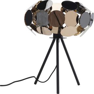 KARE DESIGN City Nights Circles bordlampe - guld/sølv/bronze/sort stål