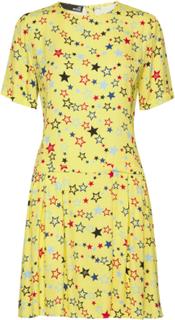 Love Moschino Dress Kort Kjole Gul Love Moschino