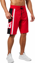 Better Bodies Ript Shorts, bright red, small Shorts herr