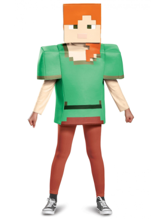 Alex Classic Minecraft Video Game spiller minearbejder Builder Hunt... - Fruugo