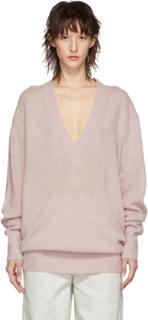Isabel Marant Pink Cashmere Cadzi Sweater