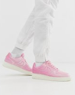 Nike Air Force 1 '07 trainers in Pink Velvet - Pink