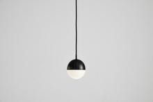 Dot pendant, small black