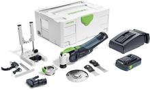 Festool Vecturo OSC 18 Li 3,1 E-Set Multiverktyg med tilbehörskit, batteri och laddare