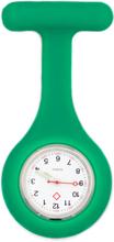 Sjuksköterskeklocka med silikonskal (Grön)