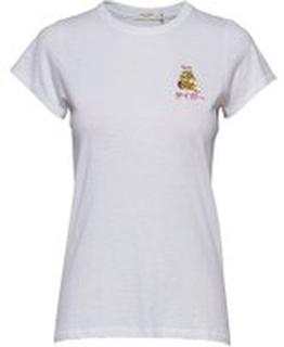 Hvit Rag & Bone Tiger T-Shirt