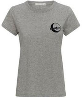 Grå Rag & Bone Moon Tee T-Shirt