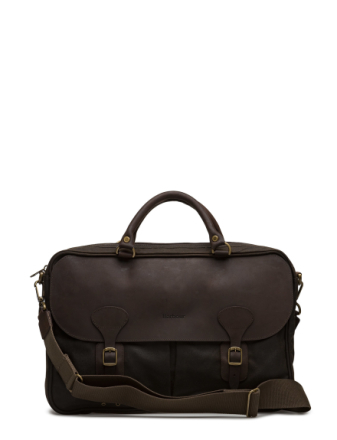 Barbour Wax Lth Briefcase