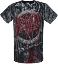 Slayer - Black Eagle Allover -T-skjorte - allover