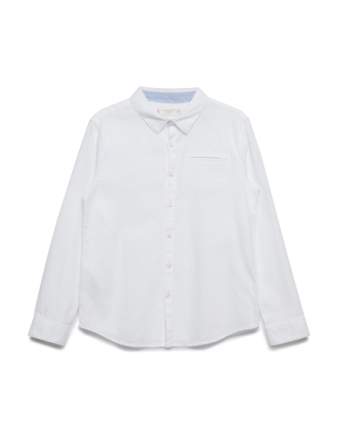 Textured Cotton Shirt - Boozt