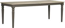Lorient matbord Vitpigmenterad/grå 200 x 95 cm