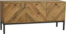 Zanzibar sideboard Brun/svart 160 x 45 cm