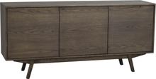 Graham sideboard Mörkbrun ek 160 x 40 cm