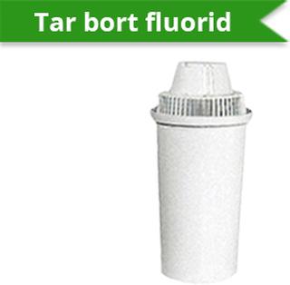 Vattenfilterpatron fluorid till filtreringskanna