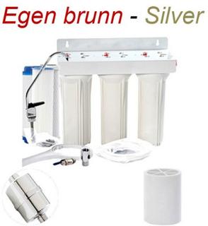 Vattenrening Egen brunn Silver