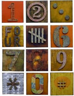 Rustik vintage Metall väggdekoration