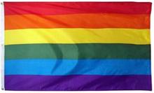 Rainbow flagga Gay Pride Peace HBTQ 90x150cm