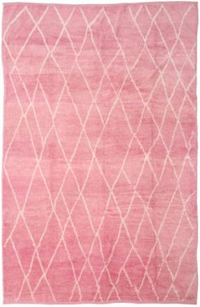 Handknotted Berber Shaggy matta 273x415 Modern Matta
