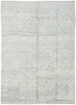 Handknotted Berber Shaggy matta 236x316 Modern Matta