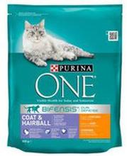 Purina - ONE Coat & Hairball kurczak sucha karma dla dorosł...