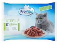 PreVital - Naturel łosoś w sosie karma dla dorosłych kotów