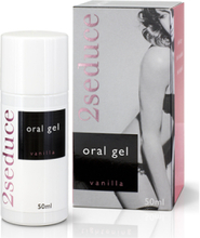 2Seduce - Oral Sex Gel Vanilla