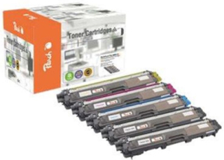 - 5-pack - XL - black yellow cyan magenta - remanufactured - toner cartridge (alternative for: Brother TN245M Brother TN245C Brother TN245Y Brother TN242BK Brother TN242C Brother TN242M Brother TN242Y) - Laser toner Svart
