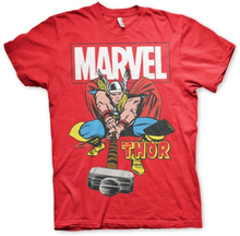 Marvel Comics, The Mighty Thor T-Shirt, Man, Red