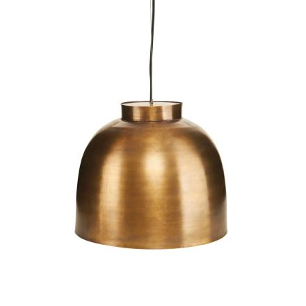 Bowl Lampe 35cm, Messing