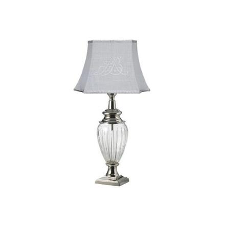Deanna Lighting, Lampe, Glas/Sølv, Small
