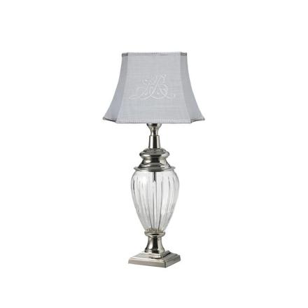 Deanna Lighting, Lampe, Glass/SølvLarge