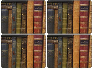 Pimpernel - Archive Books Bordbrikke, 4-pakk