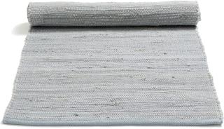 Rug Solid - Cotton Tæppe Med Kant 60x90, Grå
