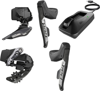 SRAM RED eTap AXS Road D1 Road Kit 2x12-delt black 2019 Komponent sett