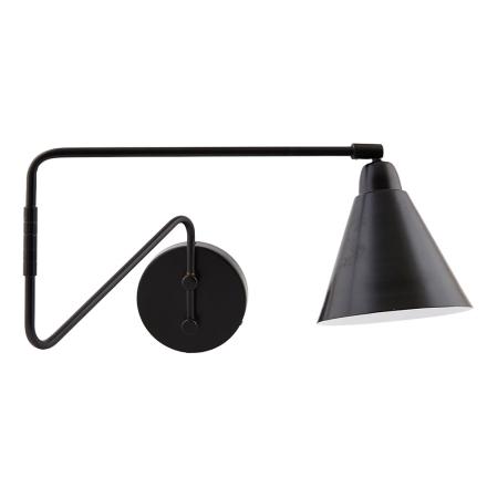 House Doctor - Game Væglampe, Vipbar, Sort