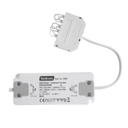 Nordtronic LED Driver, 350mA, 2-20W