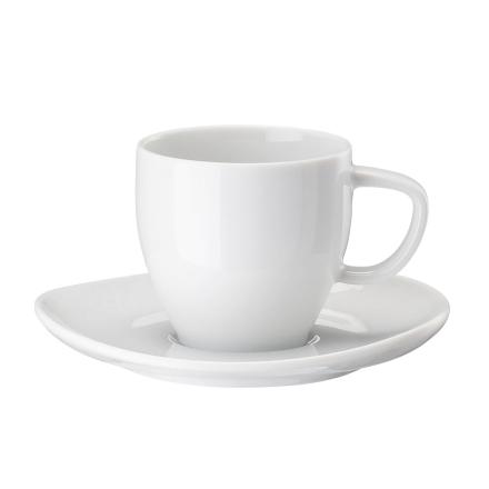 Rosenthal - Junto Espressokop & Underkop 8 cl, Hvid