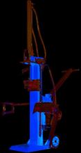 Vertikal vedklyv - 3000W
