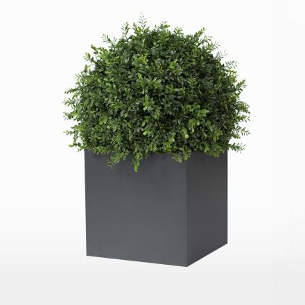 Röshults - Linné Aluminiumkrukke 60x60x60cm, Antracit