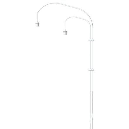 Vita - Willow Double Væglampe, Hvid