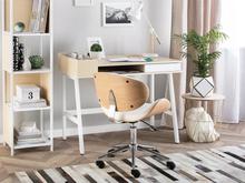 Beliani Työpöytä 100x55 cm valkoinen PARAMARIBO